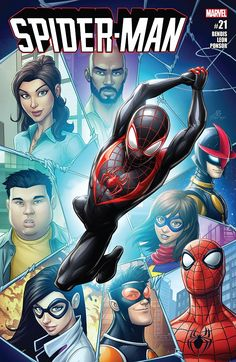 Spider-Man # 21 Marvel Comics Vol. Marvel Comics, Marvel Comic Universe, Marvel Heroes, Marvel Characters, Marvel Avengers, Captain Marvel, Nightwing, Batwoman, Amazing Spiderman