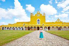 Izamal ville jaune mexique                                                                                                                                                                                 Plus