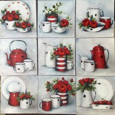 Decoupage Vintage, Decoupage Paper, Diy And Crafts, Arts And Crafts, Paper Crafts, Vintage Pictures, Vintage Images, Tea Art, Painting Lessons