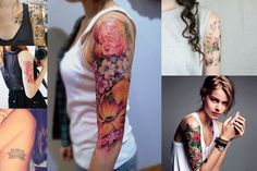 Beauty // Florals for Spring? Groundbreaking!    Auf der Suche nach dem neuen Tattoo