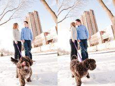 Minneapolis photos with dog