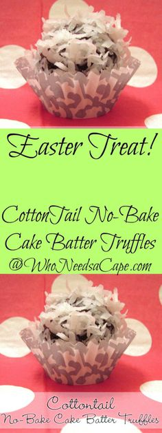 Cotton Tail No-Bake