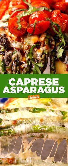 Caprese AsparagusDelish