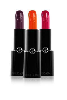 Giorgio Armani's new Rouge d'Armani Sheer lipsticks
