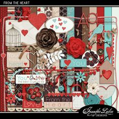 From The Heart :: Full & Mini Kits :: Memory Scraps