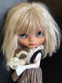 "OOAK Custom Original Blythe Doll ""Evadne"" Suedolls | eBay"