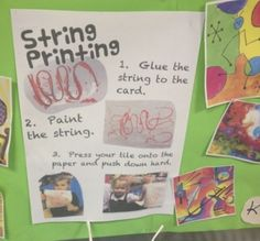 challenge cards for continuous provision in the creative area #abcdoes #eyfs #creativearea #continuousprovision