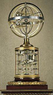 Sphère mouvante à planétaire (1789-1801), considérée comme le plus grand chef d oeuvre d Antide Janvier.