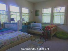 Boy Girl Twin Bedroom, #gender neutral bedroom, #twin bedroom, #shared toddler bedroom, #kid bedroom