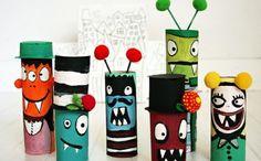99 DIY Ideen für das Basteln mit Klopapierrollen
