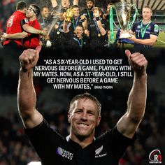 "officialrugbydump: "" The man, the legend. Signed by Leicester Tigers at the age of Brad Thorn just won't quit. Watch his Building Blocks training series to get an insight into how he's still on. Rugby Poster, Leicester Tigers, All Blacks Rugby, World Cup Winners, Rugby World Cup, Rugby Players, Tuna, Athletes, The Man"