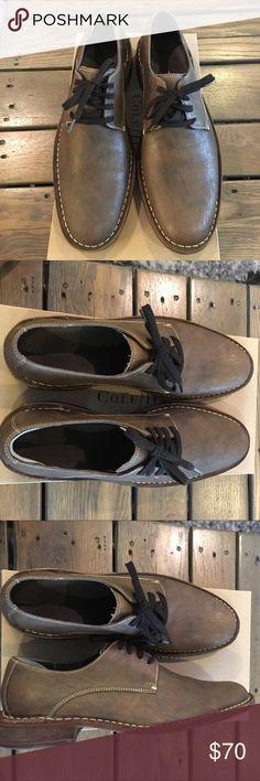 Cole Haan Men's Shoes Brand New men's Cole Haan shoes. Brown with cream stitching. Cole Haan Shoes Oxfords & Derbys