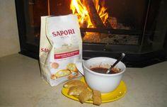 Cioccolata calda con cantucci