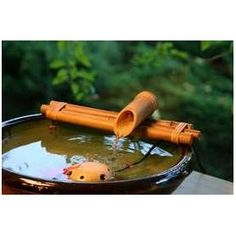 Bamboo Accents Water Fountain for Yard, Indoor/Outdoor Fountain, Wide Three-Arm Style Base, Smooth Split-Resistant Bamboo to Create Your Own Zen Fountain Water Fountain Pumps, Backyard Kitchen, Dog Toys, Indoor Outdoor, Zen, Packaging, House Styles, Header, Amazon