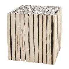 Tavolino da salotto in legno L 38 cm RIVAGE