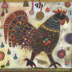 Jill Mayberg - Harold the rooster