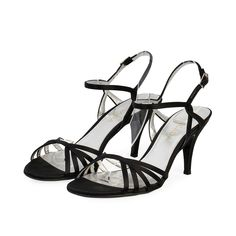 These Escada sandals are none other than dressy and glamorous pair to add to your special evening  or day looks.  ITEM CONDITION: Pre-owned – Very good condition.  SUPPLIED WITH: These shoes are supplied with a Luxity dust bag.  SIZE: 39 – (UK size 6)  THE LEFT SHOE: Very good condition – Shows normal signs of wear.  THE RIGHT SHOE: Very good condition – Shows normal signs of wear. Strappy Sandals, New Shoes, Dust Bag, Glamour, Pairs, Signs, How To Wear, Accessories, Black
