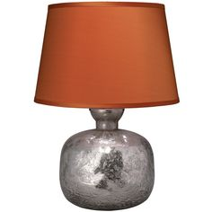 Jamie Young Jug Table Lamp Textured Mercury ($184) found on Polyvore