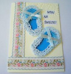 Kartka z okazji narodzin chłopczyka
