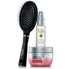 Advance Techniques Serum, Mask, and Brush Collection