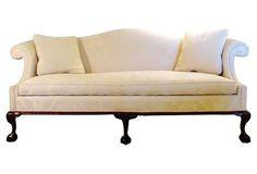 Hancock & Moore Camelback Sofa