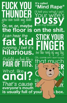 Ted..I LOVE this movie!!!! ♥