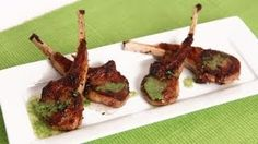 Grilled Lamb Chops Recipe - Laura in the Kitchen - Internet Cooking Show Starring Laura Vitale