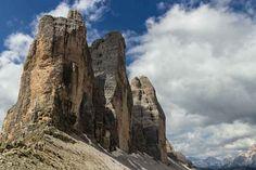The Tre Cime, Dolomite Mountains, Italy