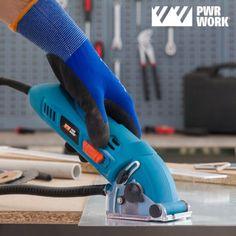 PWR WORK Compact All Materials Mini Circular Saw