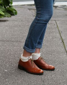 Derbies, Chaussettes, Idee Tenue, Blogueuse Mode, Merci, Tenues, Mode Femme 85141bdf7598