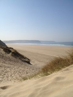 Perran Sands, Cornwall, I go here every year and its just truly beautiful Devon And Cornwall, Cornwall Coast, North Cornwall, North Wales, Cornish Beaches, Cornish Coast, British Beaches, Cornwall Beaches, Camping Places