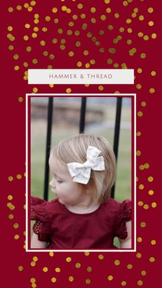 This set of 3 handmade Christmas hair bows are perfect for the holiday season and winter. Set includes three standard-size handtied bows including Green Velvet, Winter Floral, and Gold Plaid Holiday Style, Holiday Fashion, Business Baby, Christmas Hair Bows, Small Shops, Baby Style, Baby Bows, Green Velvet, Handmade Baby
