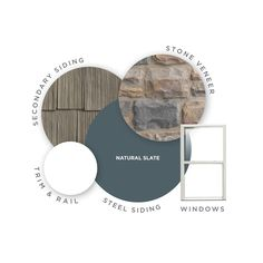 View Page Natural Slate Mastic Home Exteriors Color