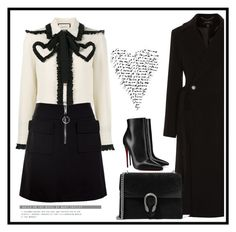 """""""Untitled #743"""" by jovana-p-com ❤ liked on Polyvore featuring Gucci, Christian Louboutin and Dondup"""