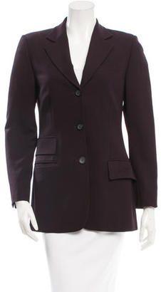 Shop Now - >  https://api.shopstyle.com/action/apiVisitRetailer?id=618582218&pid=2254&pid=uid6996-25233114-59 Gucci Narrow Lapel Blazer Jacket  ...