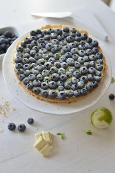 World Baking Day i moja tarta z borówkami amerykańskimi, limonką i musem z podwójnej białej czekolady. | Make Cooking Easier