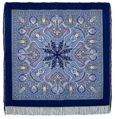 Russian green wool paisley shawl for women, Pavlovo Posad vintage piano shawl, Oversized square scar Stay Warm, Warm And Cozy, Folklore, Pride And Glory, Today's Fashion Trends, Summer Scarves, Scarf Summer, Kerchief, Filigree Design