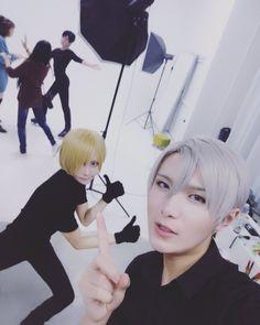 一之濑光/一ノ瀬ヒカル (ichinosehikaru)  submitted an instant, today YURI!!! on ICE with @BaoziHana ~=3=~