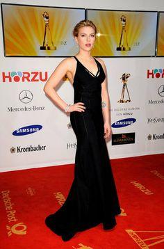 Scarlett Johansson looked great at Berlin's Goldene Kamera awards in 2012.