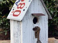 Birdhouses on Pinterest | Bird Houses, Rustic Birdhouses and Three Little Birds
