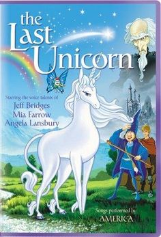 The Last Unicorn... Laur & I were obsessed with this uber weird flick!
