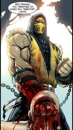 Mortal Kombat - Scorpion