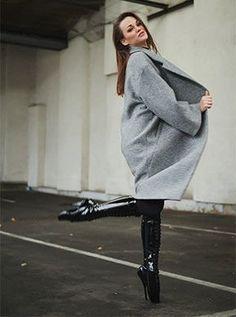 266 Black hidden fashion suit (Ballet Heels® by Alexandra Potter) Fetish Fashion, Suit Fashion, Fashion Models, Alexandra Potter, Ballet Heels, Catsuit, Normcore, Suits, Black