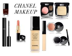 """""""CHANEL MAKEUP"""" by queenstone on Polyvore featuring beauté, Chanel, simple, makeup, nude et maquillage"""
