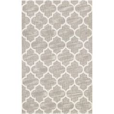 """Darby Home Co Hennepin Hand-Woven Gray/Ivory Area Rug Rug Size: Runner 2'3"""" x 7'8"""""""