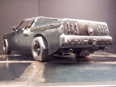 Ford Mustang metal sculpture | 1969 Ford Mustang Boss 429 ww… | Flickr