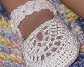 Crochet Pattern Mary Jane Booties for Baby Girl, PDF 12-004. $4.99, via Etsy.