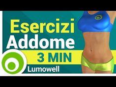Addominali in 3 minuti: esercizi a casa - YouTube