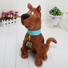 13'' 33cm Soft Plush Cute Scooby Doo Dog Dolls Stuffed Toy New for kids