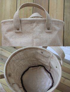 Eco amigable cestillo de lino ropa Simple por bestlove2u en Etsy